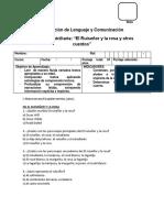 Evaluacion del Ruiseñor y la Rosa y otros cuentos.docx