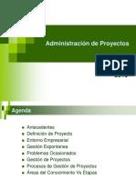 Administración de Proyectos-Introducción