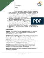 Resolución N° 10 2017-2/JF-EE.GG.LL