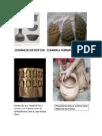 Ceramicos de Kotosh Ceramica Formativa Kotosh