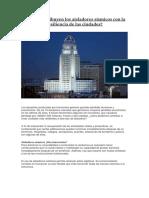 Cómo Contribuyen Los Aisladores Sísmicos Con La Resiliencia de Las Ciudades
