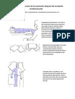 Posturas y Las Transferencias de Los Pacientes Después Del Accidente Cerebrovascular