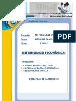 ENFERMEDADES FECOHIDRICAS