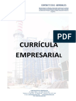 Curriculum Tecnisla SAC 2012