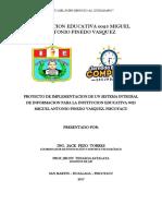 Perfil Proyecto Sistema Integrado