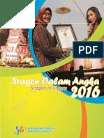 Kabupaten Sragen Dalam Angka 2016