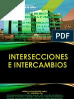 Interseccion y Intercambio