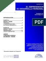 Paper02_El Emprendedor y Su Desarrollo Personal