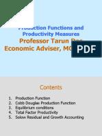 Tarun Das Lecture Productivity-1