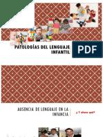 CLASIFICACIÓN DE PATOLOGÍAS DEL LENGUAJE