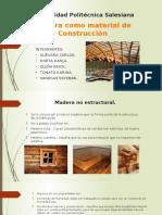 Madera Como Material en La Edificación