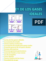 Ley de Los Gases Ideales