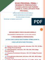 6) Presentación El Procedimiento Preparatorio Actos Conclusivos Agosto 2017