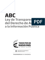 ABC Ley Transparencia