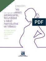 La Anticoncepción Implicaciones en El Embarazo Adolescente, Fecundidad y Salud Reproductiva en México. Encuesta Nacional de La Dinámica Demográfica 2014. ENADID