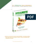Alimentos Superfood_Recetas Para Perder Grasa - Antonio Valladares y Jennifer Brawn