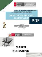 Directrices Proceso Sancionador (1)