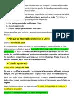"""""""La Profecía de Daniel Predijo La Llegada Del Mesías"""""""
