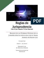 Reglas de Jurisprudencia