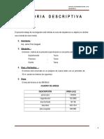 Memoria Descriptiva  arquitectura  mañana.doc