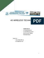 3 4g Wireless Technology