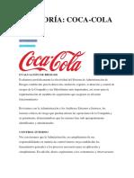 Auditoría Coca Cola
