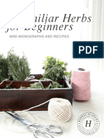 9 Familiar Herbs for Beginners eBook Herbal Academy