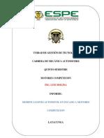 Informe Primera Diapositiva