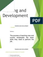 Hrm533 c5 Training and Development