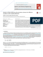 Analysis of Finite Difference Discretization Schemes for Diffusion in Spheres With Variable Diffusivity