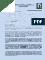 Determinación de Cloro Residual y Cloro Total