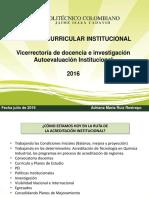 Presentacion Reforma Curricular Institucional Julio 21