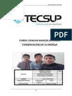 Cien_Apli Laboratorio 04 Conservacion de La Energia