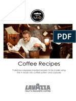 70666 Lavazza Coffee Recipe Book
