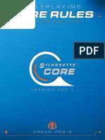 SilCore - Silhouette-Core Deluxe Rulebook (SilCore + OGL)