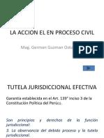 La Accion El en Proceso Civil