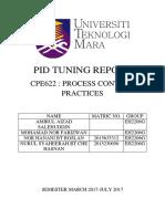 Pid Tuning Report