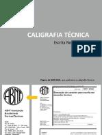 Caligrafia Técnica - Aula