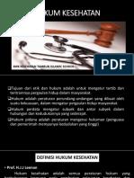 Bab III Hukum Kesehatan