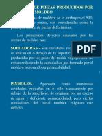 Fundición - Defectos de Piezas Producidos Por Arenas de Moldeo