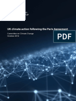UK Climate Action Following the Paris Agreement Committee on Climate Change October 2016