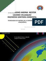 UANCV TEMA 06 Efecto Invernadero Cambio Climático