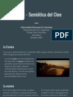 Semiótica Del Cine - Análisis de una escena de 2001