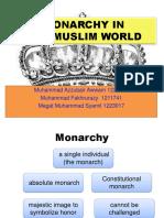 Monarchy in the Muslim World- Megat, Zubair and Razy