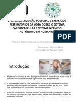 Apresentação Projeto MARCELO