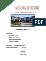 Informe Final Trefilado