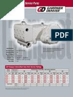 Garden Denver - 1054 Gd Compact Well Service Pump