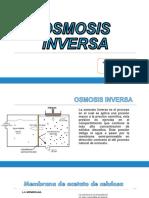 Osmosis Inversa