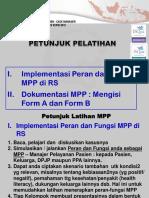 Petunjuk Pelatihan WS MPP-Febr2017