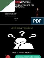 DIAPOSITIVAS ETICA VOCACION